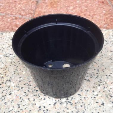 Vaso diametro 10 cm in plastica da semina-talea-vivaio-esterno