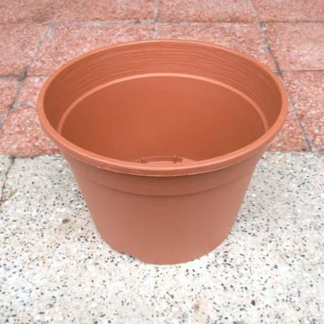 Vaso diametro 20 cm in plastica similcotto da semina-talea-vivaio